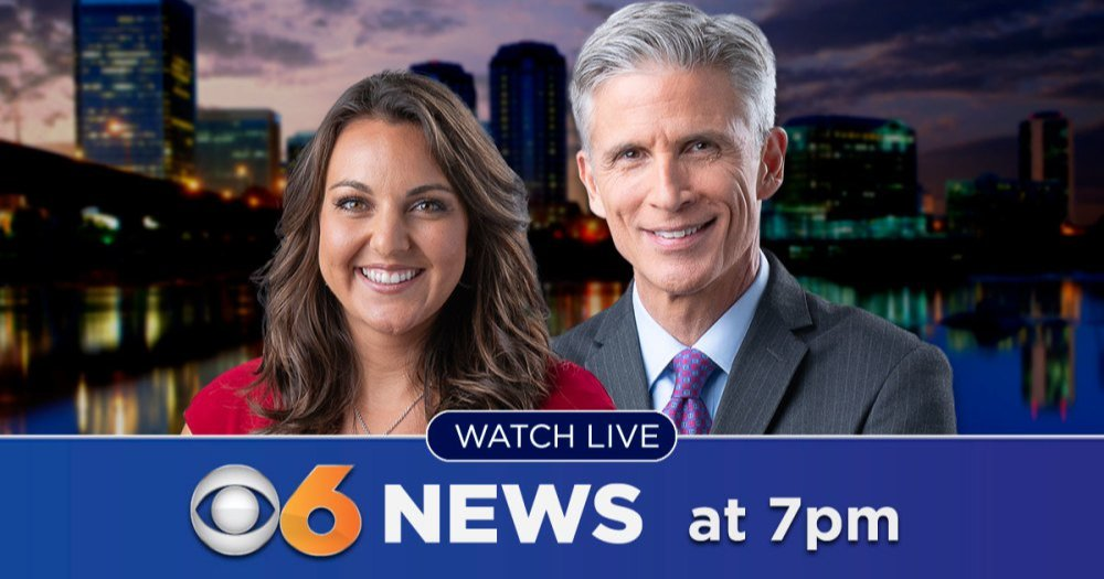Watch #CBS6 News at 7 p.m. with @BillFitzCBS6 and @fpeytonwx on TV and streaming on the #CBS6 News App. #WorkingForYou #RVA https://t.co/DR2e70rvwx