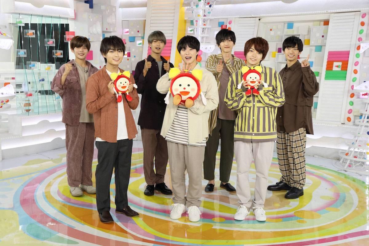 なにわ男子、『めざましテレビ』新コーナースタート 初回は大橋和也が登場#なにわ男子 #ジャニーズ