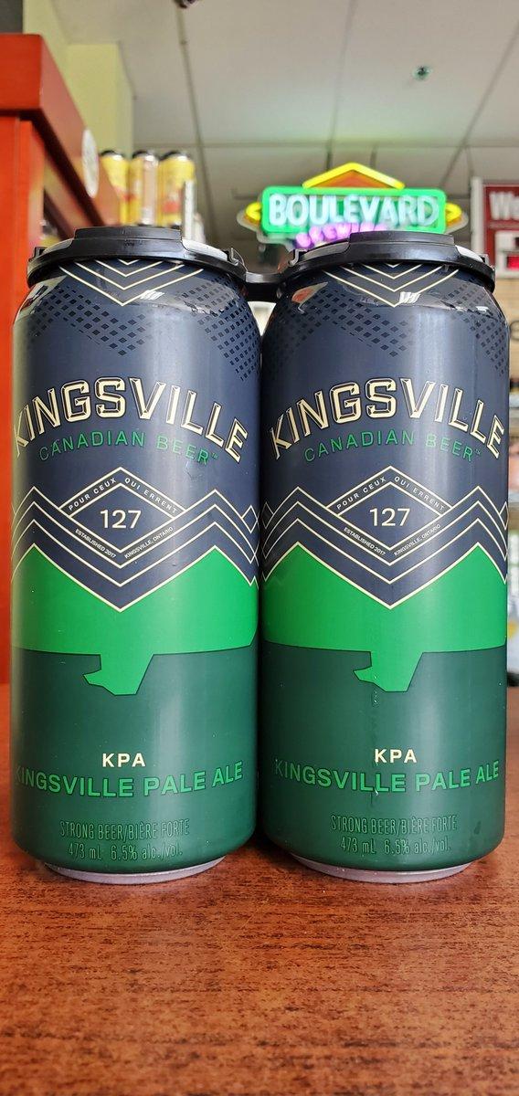 NEW @kingsvillebrewery Kingsville Pale Ale 6.5%  #mckinneytx #craftbeer #shoplocal #drinklocal #allentx #friscotx #texas #texascraftbeer #melissatx #txbeer https://t.co/kWs4hV50Fs