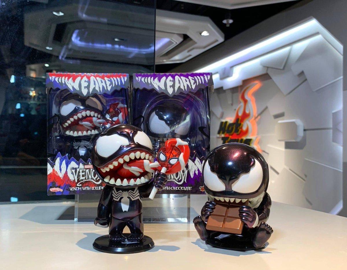 【Venom (Comic)  - Venom Cosbaby Bobble-Head】 by Hot Toys Secret Base  #HotToys #ホットトイズ #Cosbaby #Marvel #Venom https://t.co/JCE95JZU8i https://t.co/xfOGvSunWf