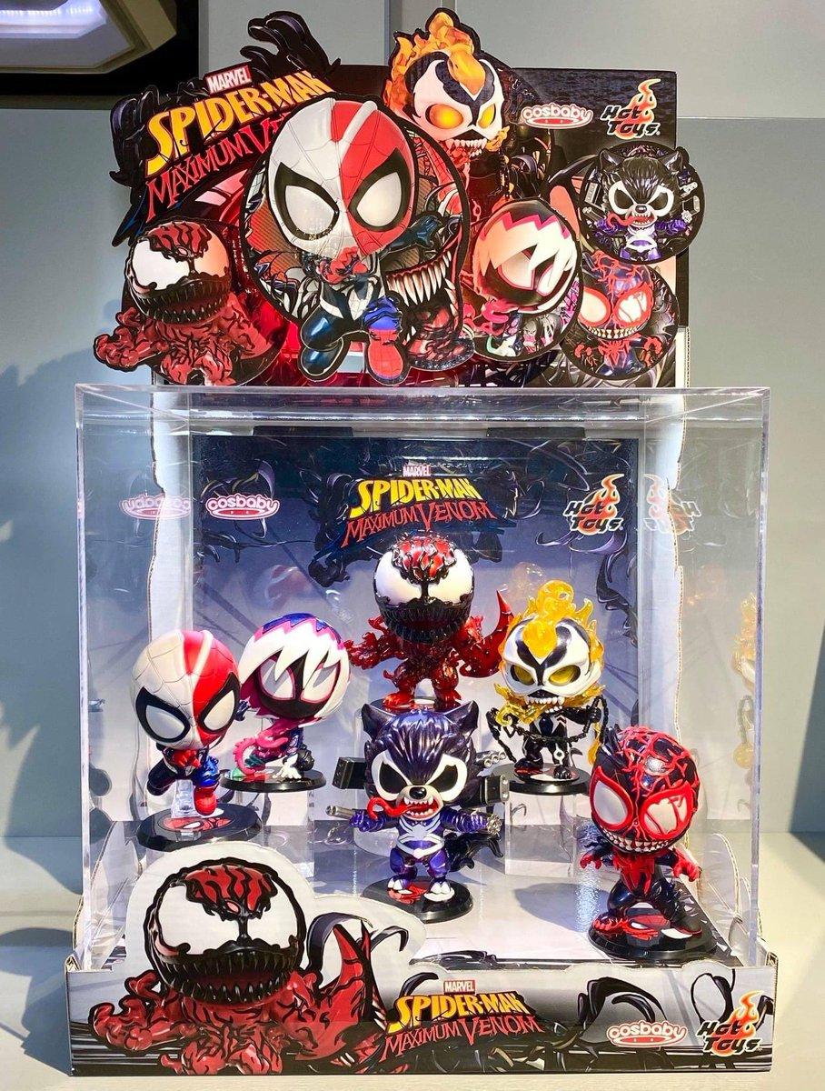 【Spider-Man: Maximum Venom - Venomized Cosbaby Bobble-Head】  by Hot Toys Secret Base  #HotToys #ホットトイズ #Cosbaby #Marvel #Venom https://t.co/wpBe5pPHjn https://t.co/eEUxMuT4yX
