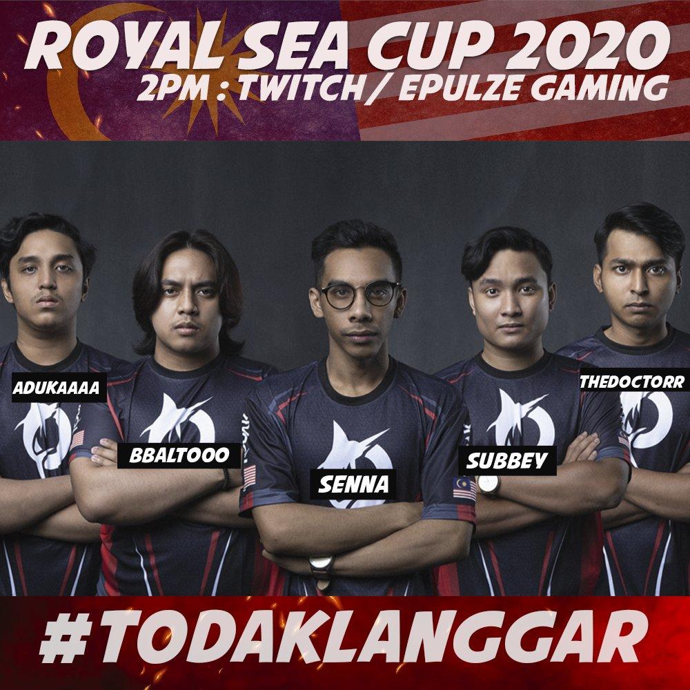 VALORANT: Pasukan Malaysia, TODAK akan kembali beraksi hari ini dalam misi merebut kejuaraan ROYAL SEA CUP 2020!  Perlawanan TODAK dijangka akan bermula jam 2 petang nanti menentang pasukan Korea Selatan @VisionStrikers!   #wtmtoday #valorant #valorantMY #IgnitionSeries https://t.co/OUwXUOZiCf