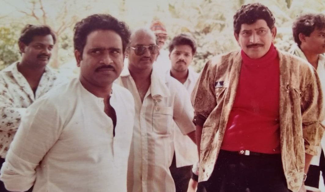 On Behalf Of Superstar Krishna garu & Superstar @urstrulyMahesh Fans Wishing @GkParuchuri garu A Very Happy Birthday 💐 #HBDParuchuriGopalakrishna https://t.co/9dHRkej93a