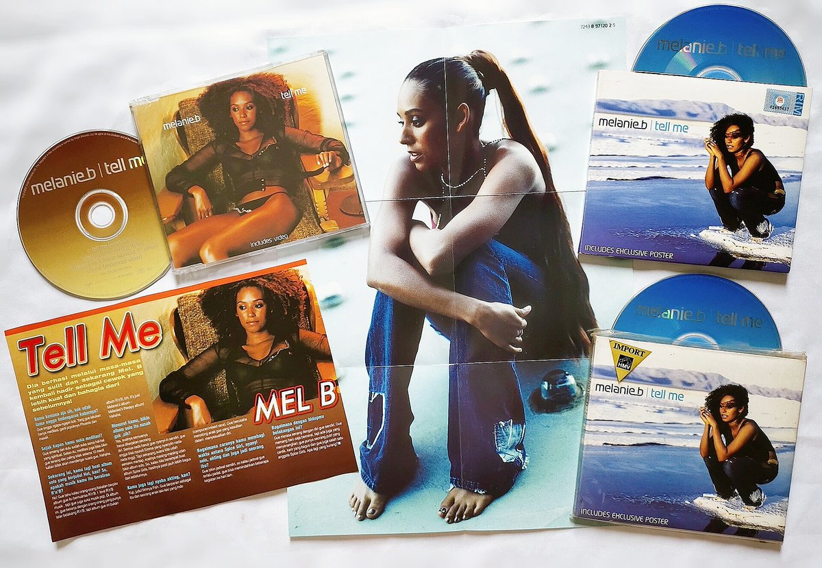 20th Anniversary 🎉 of @OfficialMelB single 'Tell Me' was released on 25 September 2000!... https://t.co/wHKCfutepH
