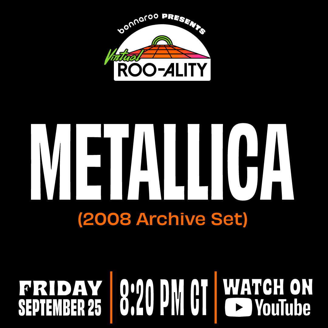 Tune in tonight for @Bonnaroo's #VirtualRooality featuring a throwback 2008 set from us! We hit the stream at 9:20 PM EDT // 8:20 PM CDT // 6:20 PM PDT. Set your reminder ➡️ https://t.co/oWLVqq29ds https://t.co/DV3kcrh3oa