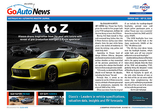 In this this weeks edition of GoAutoNews & GoAutoNews Premium: @Nissan_Aus finally reveals its new Z car, @FordAustralia hatches its long-suspected baby Ranger Raptor and @Toyota_Aus prices its rampant little GR Yaris from $39,950 driveaway. https://t.co/OC173dEL6w https://t.co/yaVtGj5MQE