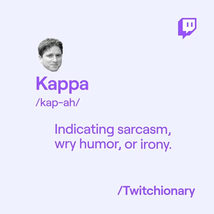 If youve ever been asked what Kappa meant, what was your answer?