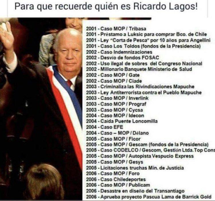 @caroline_Walls1 @RicardoLagos El Prontuario de Ricardo Lagos, sus opiniones valen CALLAMPA  #Rechazo https://t.co/J9dTytmN7S