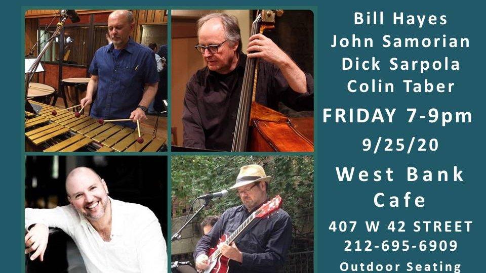 Tomorrow! Friday! 🎶LIVE MUSIC @westbankcafe 7-9PM -  Great #nyc food, drinks & jazz! #HappyHour #jazzlovers #jazz #food #yum #tasty #goodeats #gourmet #music #nightclub #bar #musicians #downtown #Brooklyn #NewYork @art #menudujour #wineoclock #bigapple #restaurant #musicians https://t.co/Ilxs30DcrF