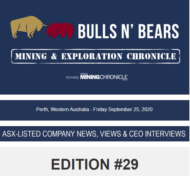 https://t.co/XbuHQiDjfm  Edition #29 Mining & Exploration Chronicle has been unearthed.  #ASX #ASXNEWS #BULLSNBEARSWA #MININGWA #THEWESTAUSTRALIAN #MININGNEWS #NMC #TSX #TSXV $MRC $LIN $VMC $TRY $GSN $AVZ  $CAI $LEX $LIT $WMX $AOU $KAI $APC $SIH $NVO $88E $LRS  $TIE $DYLs https://t.co/i7v3mh8i4O