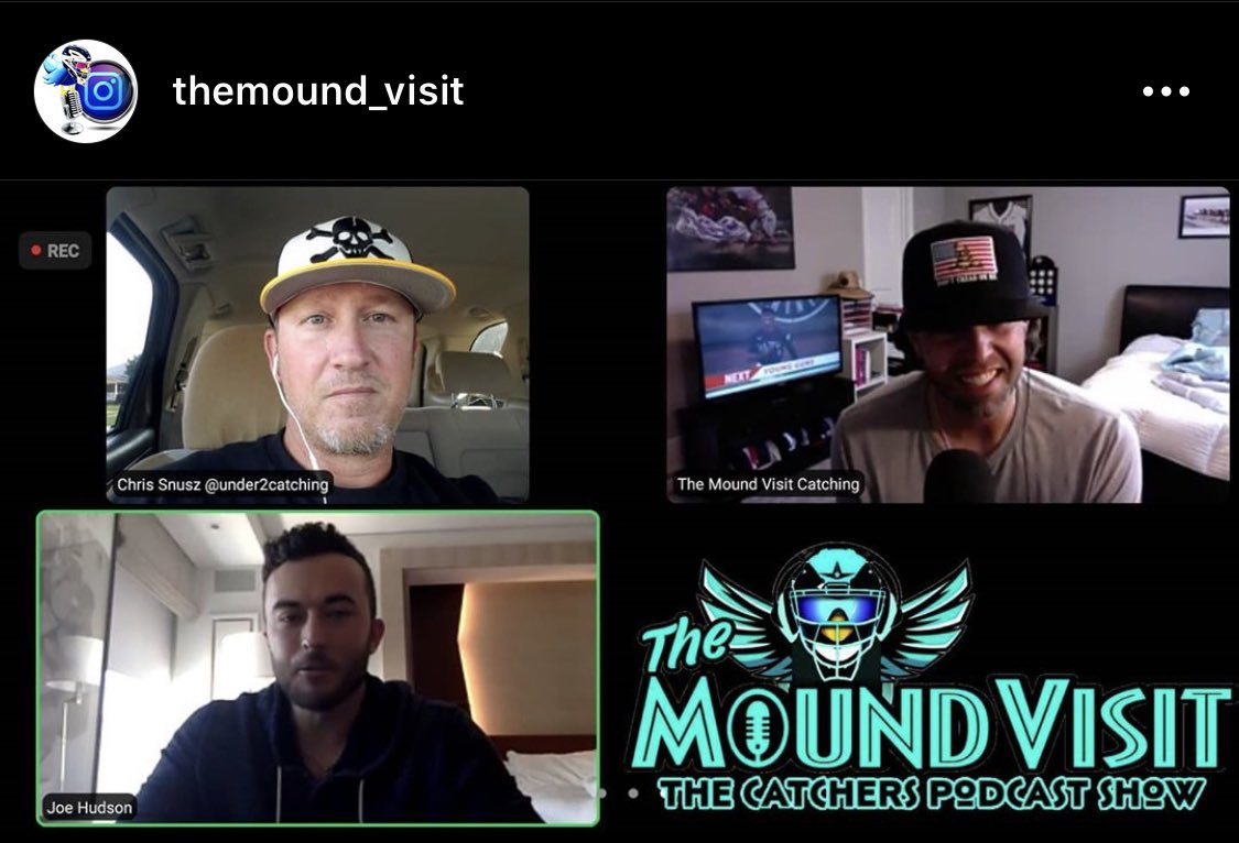 Excited for this one to drop!!!  Thx to @joehud4 for spending some time with us to talk #catching, 2020 #MLB season, and even some #hitting! https://t.co/pnYEMdeO1n
