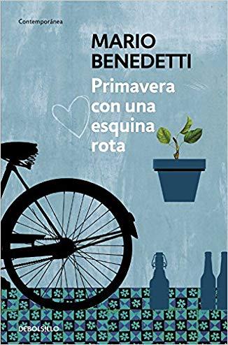 24. Un libro que te guste de un autor que haya fallecido ✅  Primavera con una esquina rota - Mario Benedetti  #30diasdelibros https://t.co/Ksga5RJpCb