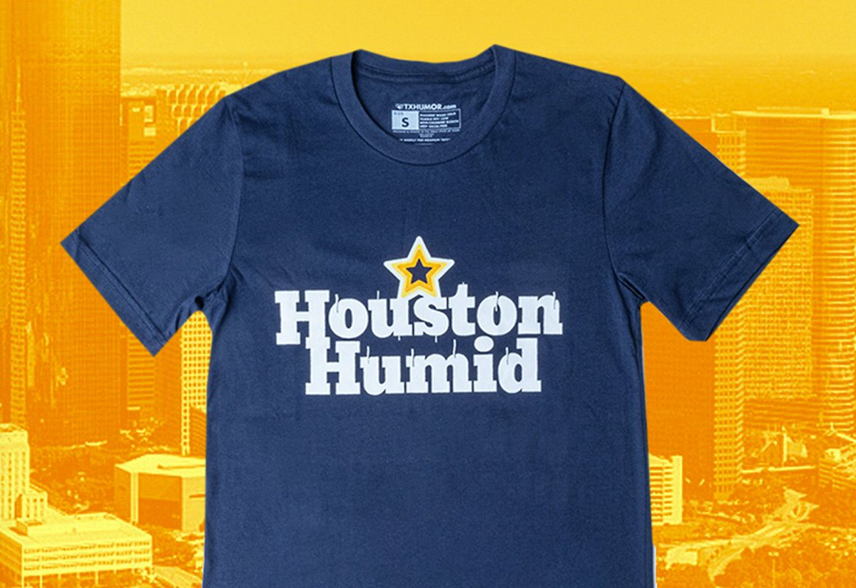 If you know a thing or two about humidity, you just might be from Houston. https://t.co/YjYqRWYMrJ https://t.co/R84TG0l0eP