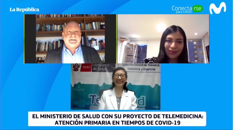 Teleatiendo, el sistema del Ministerio de Salud que permite la prestación de servicios de salud a distancia, obtuvo el primer puesto del concurso ConectaRSE para Crecer, en la categoría Estado. https://t.co/3EmMRu2KMm