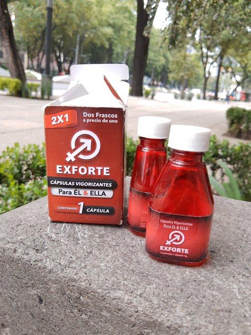 2 pic. Cualquier lugar es bueno si te da la gana😋 y mejor si lo combinas con las cápsulas 💊 #Exforte Visita