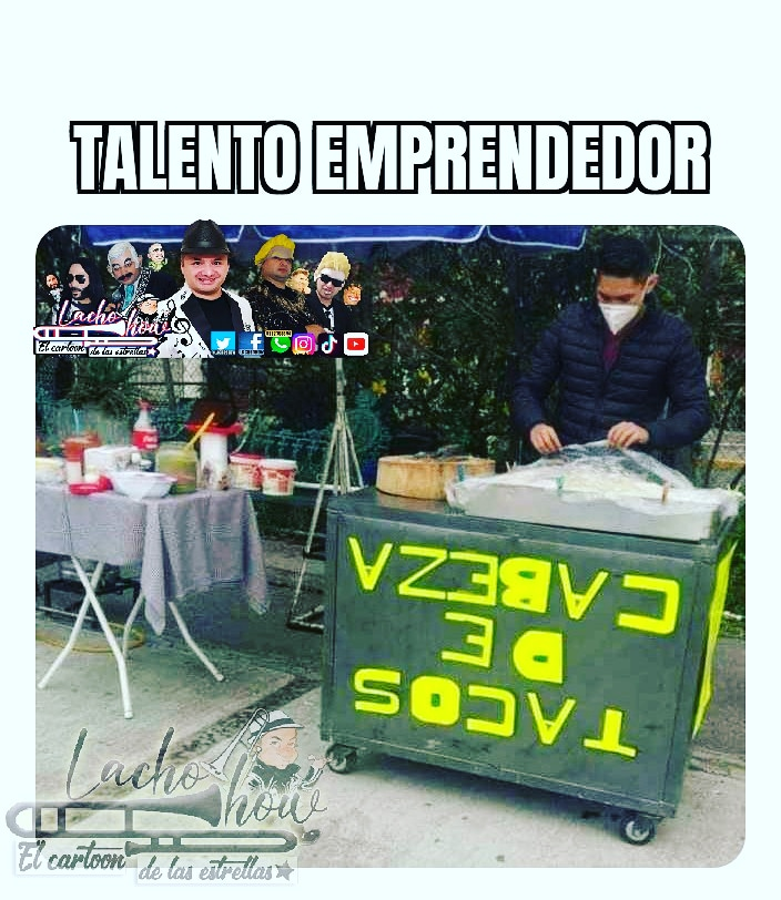 Hay talento falta apoyarlo... #talento #emprendedor #emprendedores #creatividad #meme #memes #lachoshow #comedia #tacos https://t.co/C9tfB8NUvl