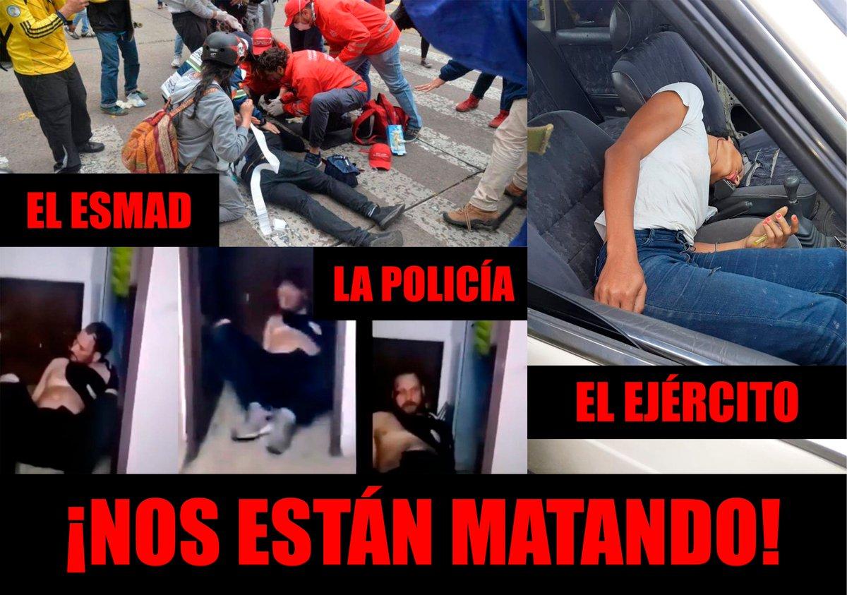 Que alguien nos cuide del ESMAD, de la policía y del ejército.  Que alguien nos cuide de los que