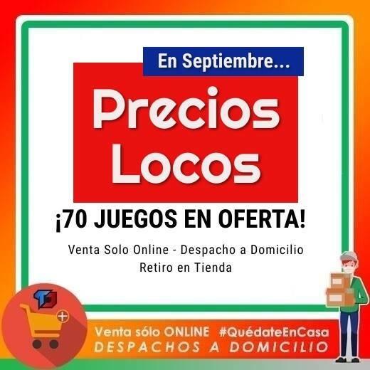 PRECIOS LOCOS Aumentan los titulos en oferta Revisa los 70 titulos activos Despacho a Domicilio Santiago y Regiones … https://t.co/1iEJw7gsoB https://t.co/9b35ZvKirN
