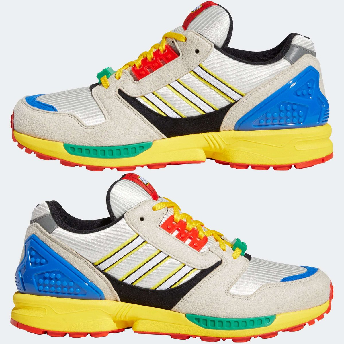 .@adidas and @LEGO_Group are launching $130 sneakers that look just like the colorful toys  #atozx #adidasZX8000 #adidasOriginals    https://t.co/uLthaZ4R9Q https://t.co/FoHqvy9dyO