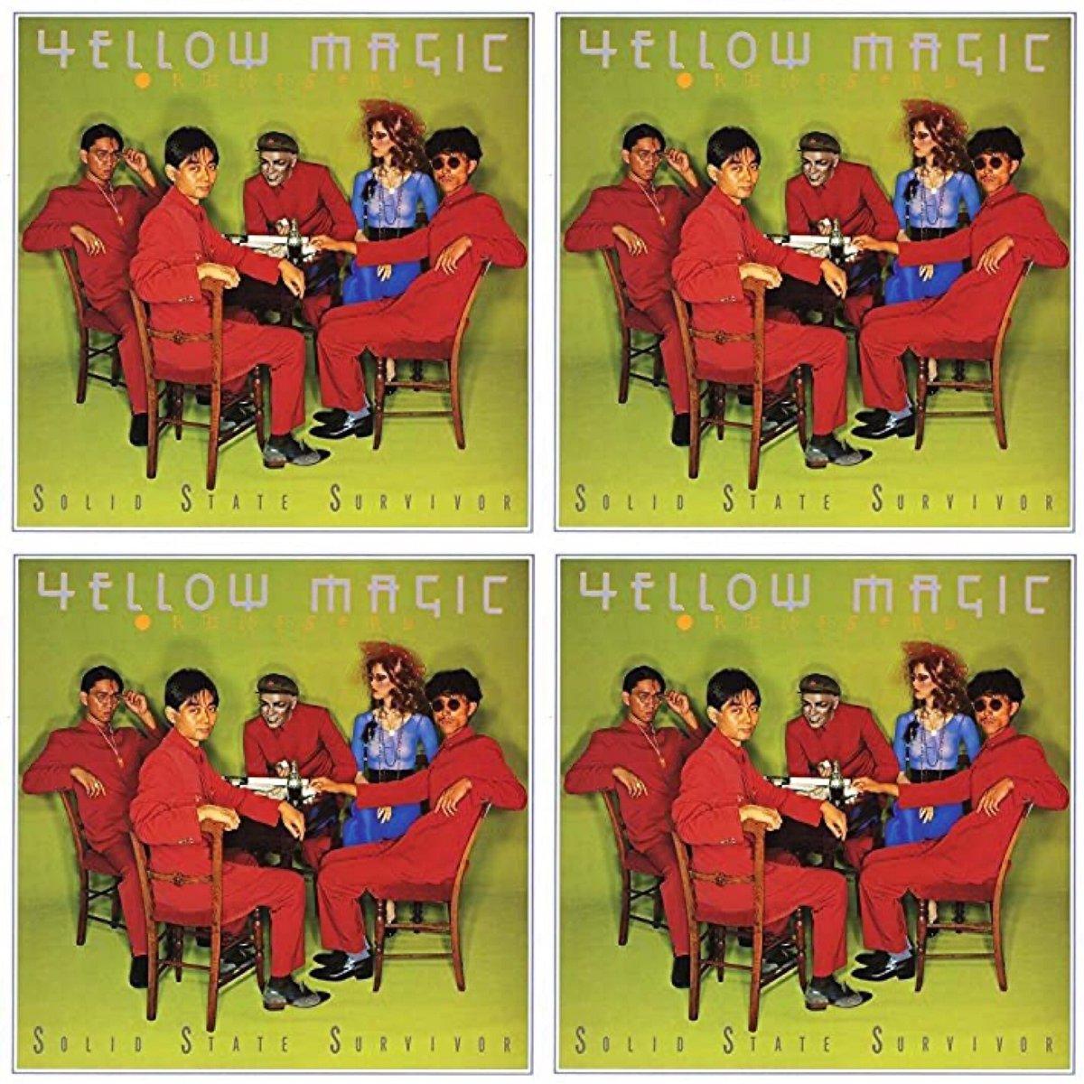 "【Yellow Magic Orchestra】 1979年 41年前の今日発売  初めて聞いた時の衝撃…  ""SOLID STATE SURVIVOR""  ""ソリッドステイトサヴァイヴァー"" https://t.co/jd8gxgckh8  ""テクノポリス"" https://t.co/nUqXaEfOAq  ""ライディーン"" https://t.co/4QrZmeuaYn  #YMO #細野晴臣 #高橋幸宏 #坂本龍一 https://t.co/aJlu93TMOf"