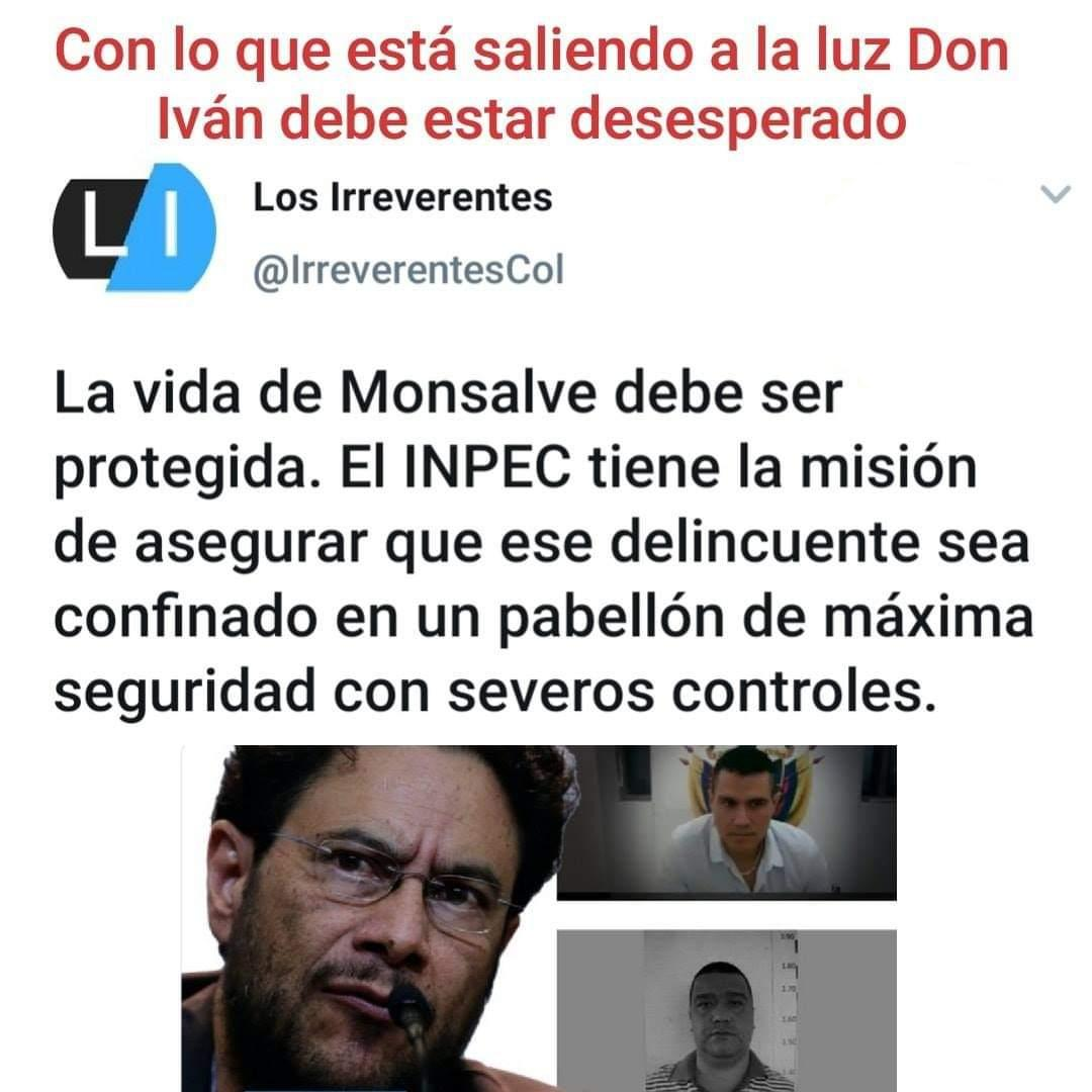La vida de #MonsalveMentiroso debe ser protegida.  #CepedaSenadorDeFarc #UribeSecuestrado #UribistaSigueUribista #UribeEnLibertad #UribeSiempreTuvoLaRazón #UribeLibre #ESMAD #Uribista #ElCacas #PetroVideo #Cepeda https://t.co/gxwoYzd3FX