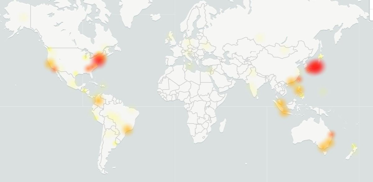 It's not just you, a ton of Google services just went down.