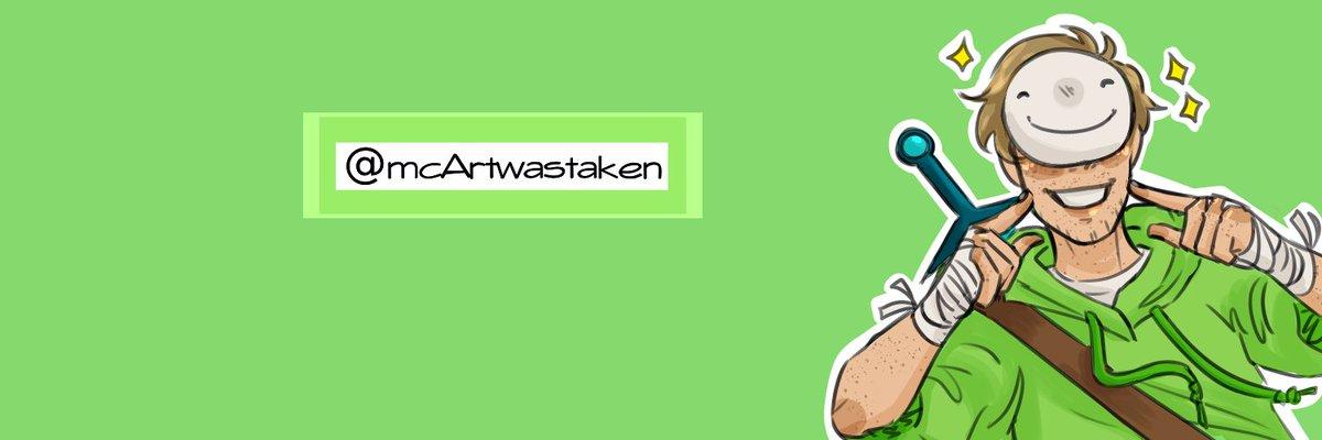 banner for @mcArtwastaken :D just a quick lil happy dream for them ✨  #dreamfanart #dreamwastaken #dreamwastakenfanart #mcyt #mcytfanart #header #sparkles #artistsoftwitter  :) https://t.co/Bo5hg3rkvD