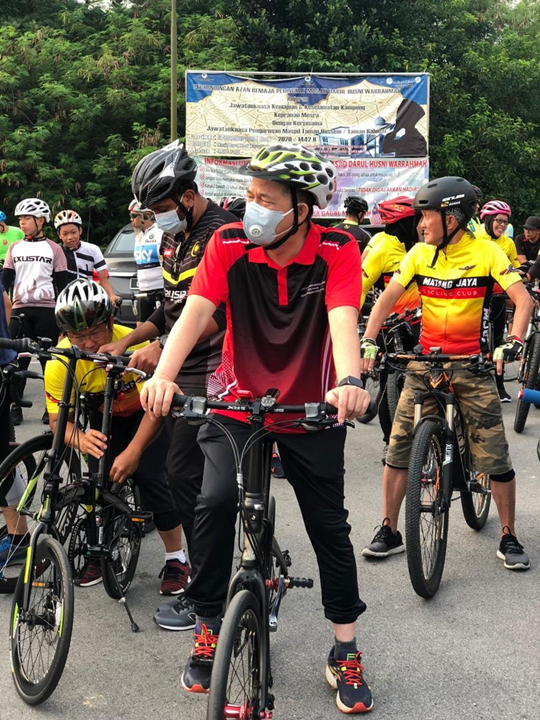 KAYUHAN SANTAI BERBASIKAL - sempena sambutan Hari Malaysia 2020 anjuran KJM Taman Hussein/RahmatProgram Kayuhan Santai ini diadakan pada hari ini, Sabtu, 19 Sept 2020 seiring dengan Majlis Penyampaian Hadiah Kibar Jalur Gemilang 2020.Tetamu  #Kesihatan #So https://t.co/dCNAOX6FDD https://t.co/jIqUa6j0W2