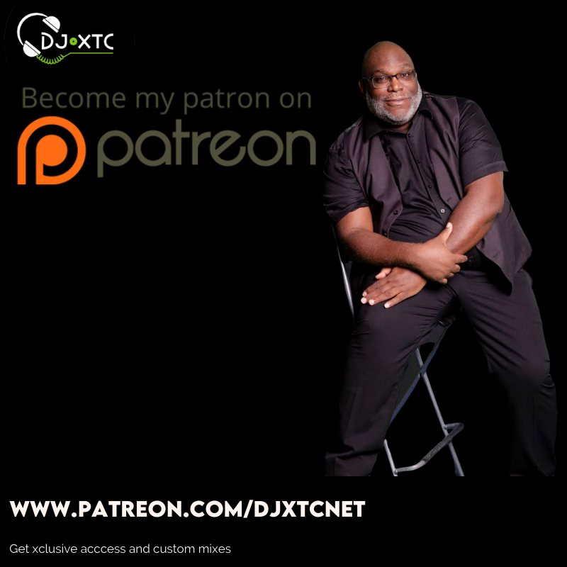 Join patreon and invest in what is continually being created.  Get access to advance mixes and have custom mixes made just for you. Choose the tier that works for you.  Join me on Patreon https://t.co/bMasTxXasU  #djxtclive #podcast #mixes #patreon #xclusive https://t.co/0LneMsHEaC
