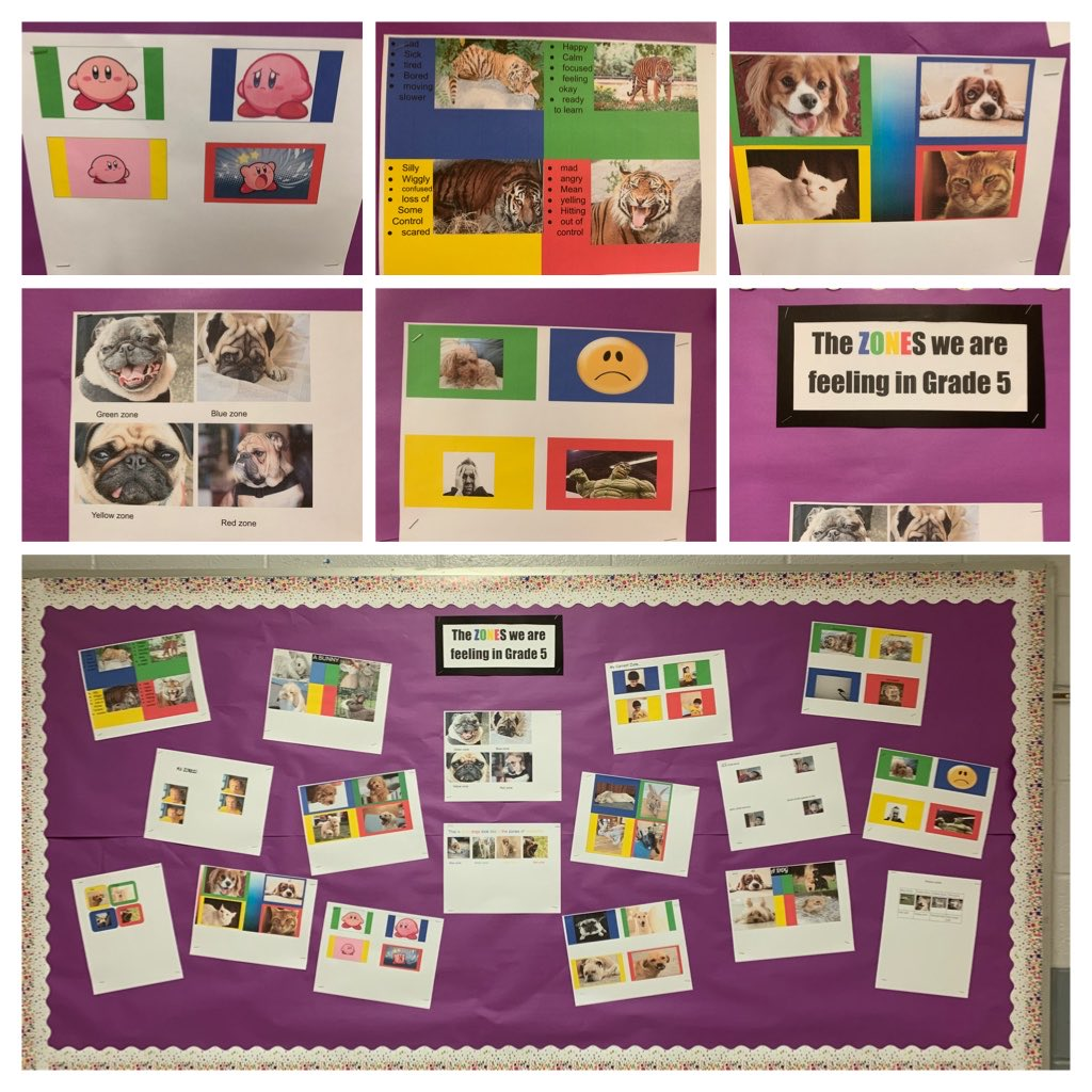 Room 18 shared their Learning about Zones of regulation with creative media posters as they  explore strategies we can move into the green zone to be ready to learn. ⁦@JpsTdsb⁩ ⁦@LC3_TDSB⁩ ⁦@TDSB_MHWB⁩ ⁦@TDSB_DLL⁩ https://t.co/ic6N1TbXyY