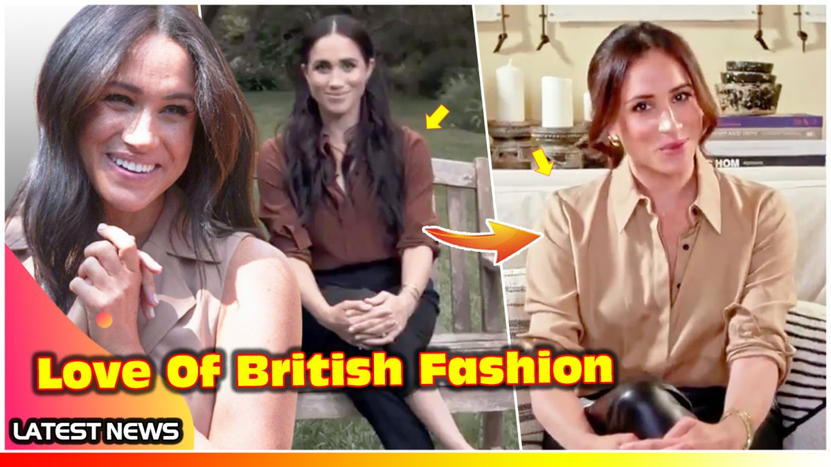 Duchess Meghan STUNs In A £570 Pointed Collar Silk Shirt By Victoria Bec... https://t.co/7MRDxnhePz via @YouTube #VictoriaBeckham #DuchessMeghan #MeghanMarkle https://t.co/Wsu82ZN89y