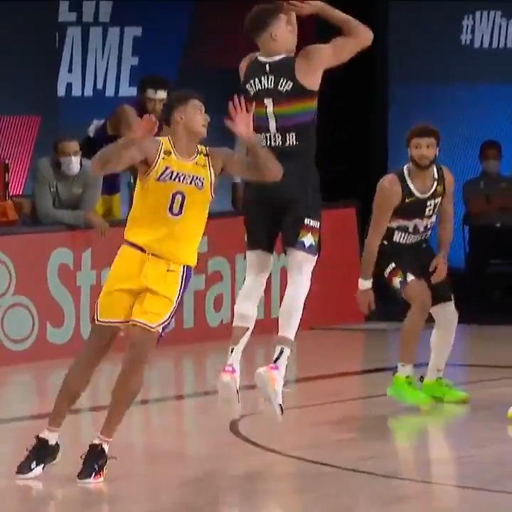 This was filthy, MPJ 😮  (via @NBA) https://t.co/jtm6EJRI6n