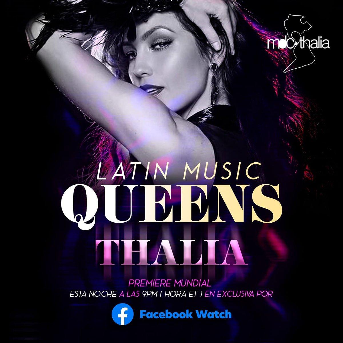 LATIN MUSIC QUEENS - THALIA  @thalia 👑🌼💋❤️  Es una cantante, compositora, actriz, empresaria y filántropa mexicana que lleva casi tres décadas de vigencia en la industria de la música    #Thalia #Farina #SofiaReyes #LatinMusicQueens @mdcthalia @mdcguadalajara https://t.co/X8S94WvcIs