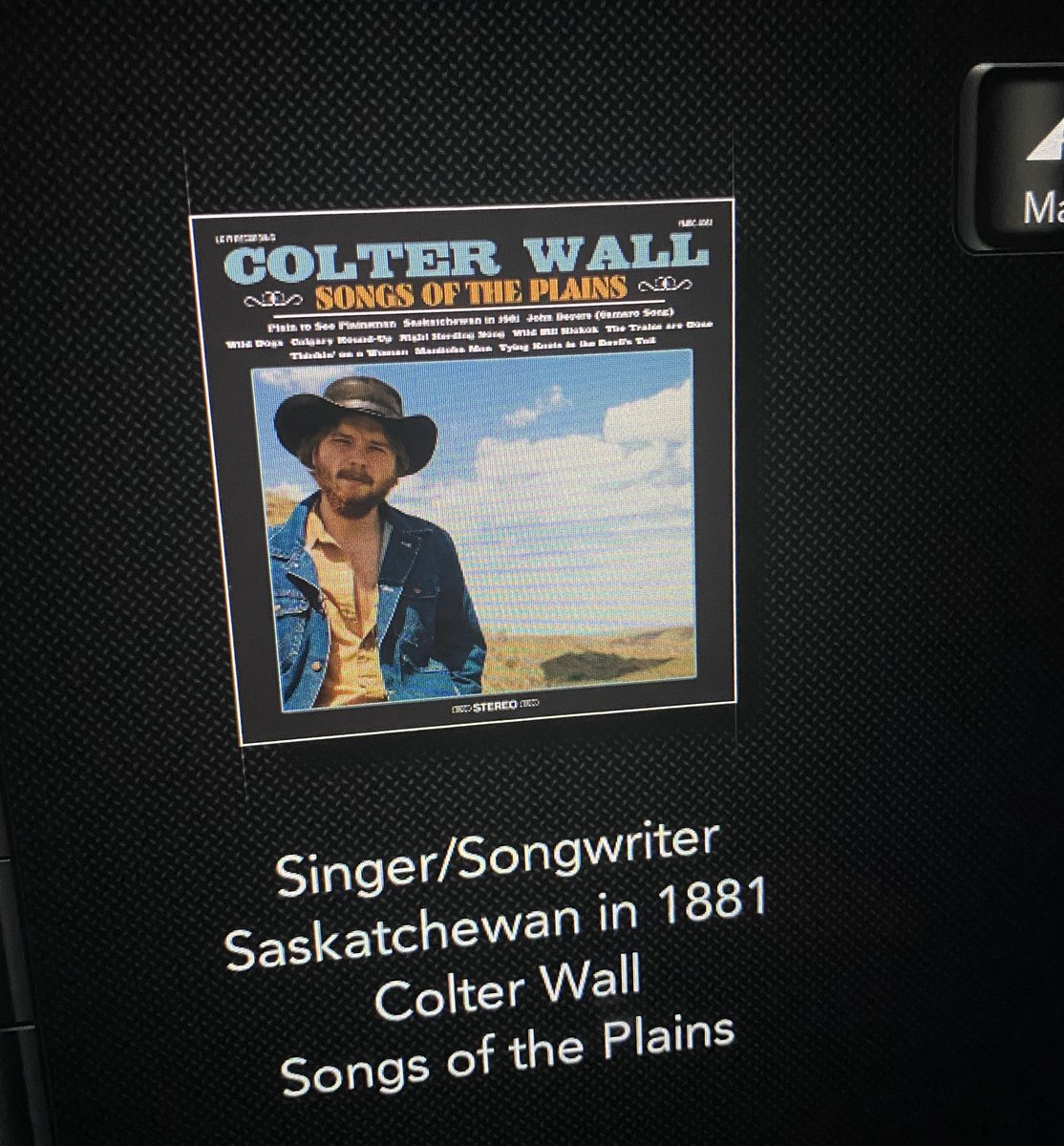 If you're a farmer or a reporter living in Ontario. Have a listen to this tune and the words. A great artist @ColterWall. Also #playbigiron https://t.co/AbA29CxnYM