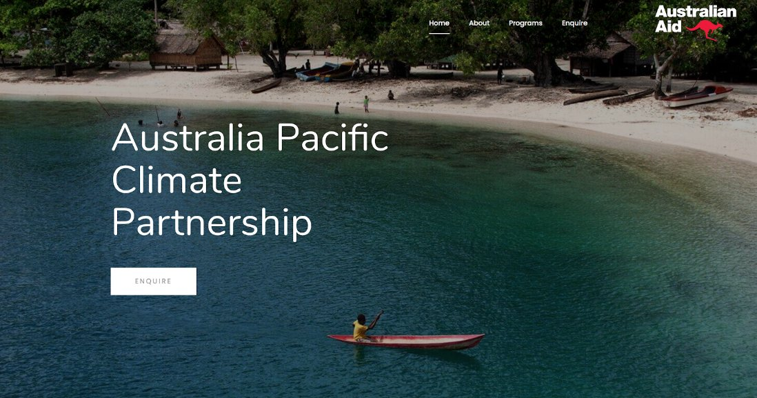 Supporting SMEs in Aid & Dev:Not quite design, but well done to the 10 SMEs who bid for the Review of the Aus Pac Climate Partnership including @ninti_one, @Strategic_Dev, @iodparc & @ClearHorizonAU.   #Designs #Evaluations #ClimateChange #Covid19  #DFAT  📸: APClimatePartnership https://t.co/UrQcH1IUJv
