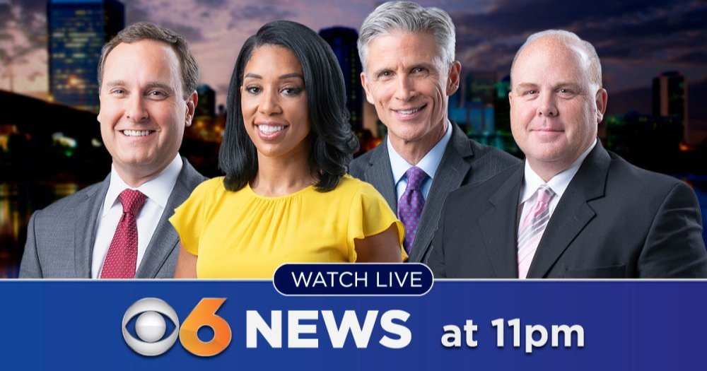 WATCH LIVE: @CBS6 News at 11 p.m. on TV #CBS6News App. #RVA #WorkingForYouCBS6 https://t.co/gPCY666dez