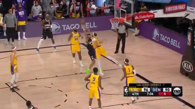 This isn't fair, Jamal Murray 😮  (via @NBA)  https://t.co/lzjstEM6Ns