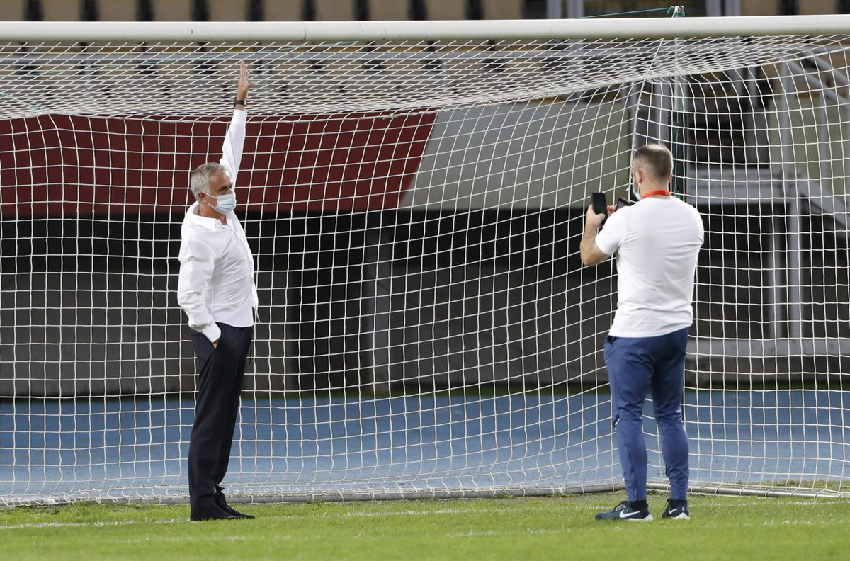 Jose Mourinho says goals were 'too small' ahead of Tottenham Europa League win against KF Shkendija https://t.co/a2LNtVJW5F #London https://t.co/iUbh2NZpGm