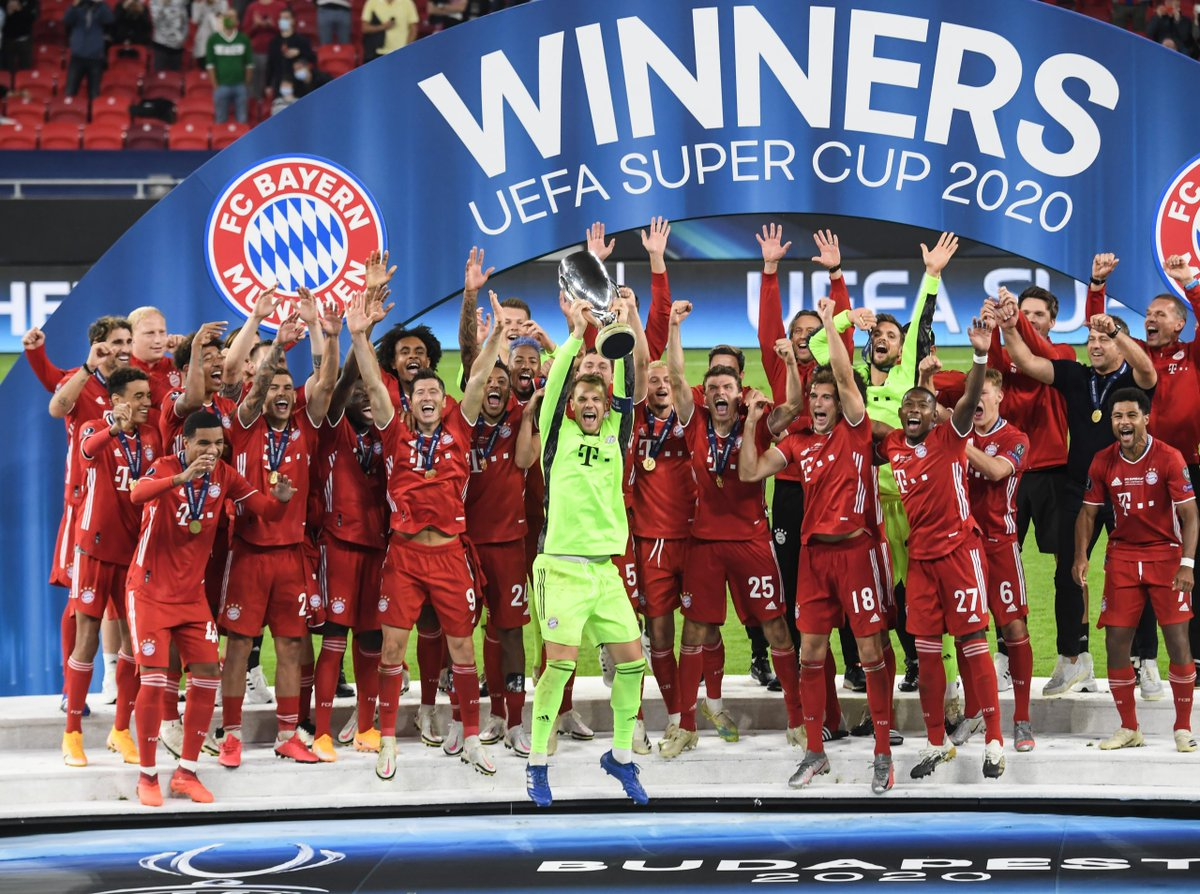 Liverpool dan Manchester City berhasil mengalahkan lawan masing-masing, Bayern semakin dekat dengan sextuple setelah menjuarai UEFA Super Cup, dan hampir semua tim unggulan di kualifikasi Europa League juga menang dengan nyaman, standard. https://t.co/VI5tCm74Pj