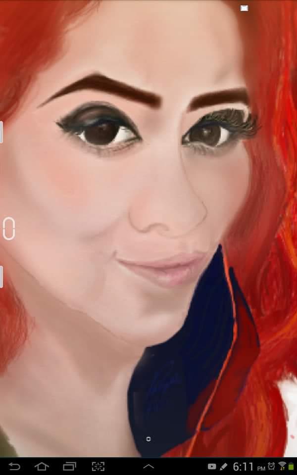 Sinceramente me llena de orgullo hacer este retrato, güey, yo no tuve clases de arte, no claqué, no seguí ningún tutorial, era la primera vez que dibujaba en tablet, (es viejísima,2010) de hecho es la primera vez que dibujo retrato, yo lo llamo #talento, no sé ustedes. https://t.co/EQMzyjkDm5
