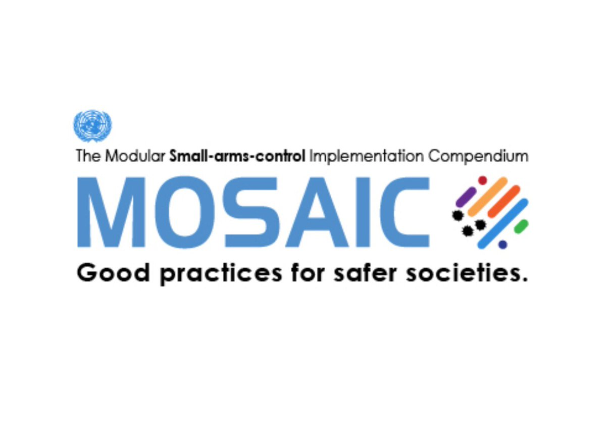 New! @UN_Disarmament launched additional modules to the @UN Modular small-arms-control Implementation Compendium (MOSAIC) which shares good practices to help Member States improve the #SALW #armscontrol measures. Find them here 👉 https://t.co/kZVy2Nz5OV https://t.co/tU6G3GsBnl