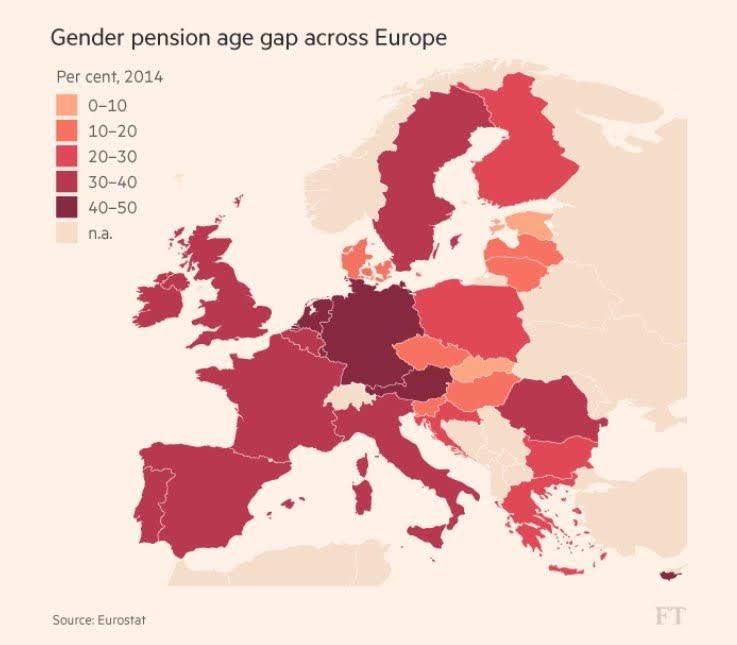 @JanLatten @NUnl Vergeleken met andere Europese landen lag de levensverwachting in 2018 hier vier maanden lager dan gemiddeld voor vrouwen en twee maanden hoger voor mannen, terwijl de ongelijkheid in pensioenen hier ook het hoogste is #genderequity #politiek https://t.co/zM8877WnqI