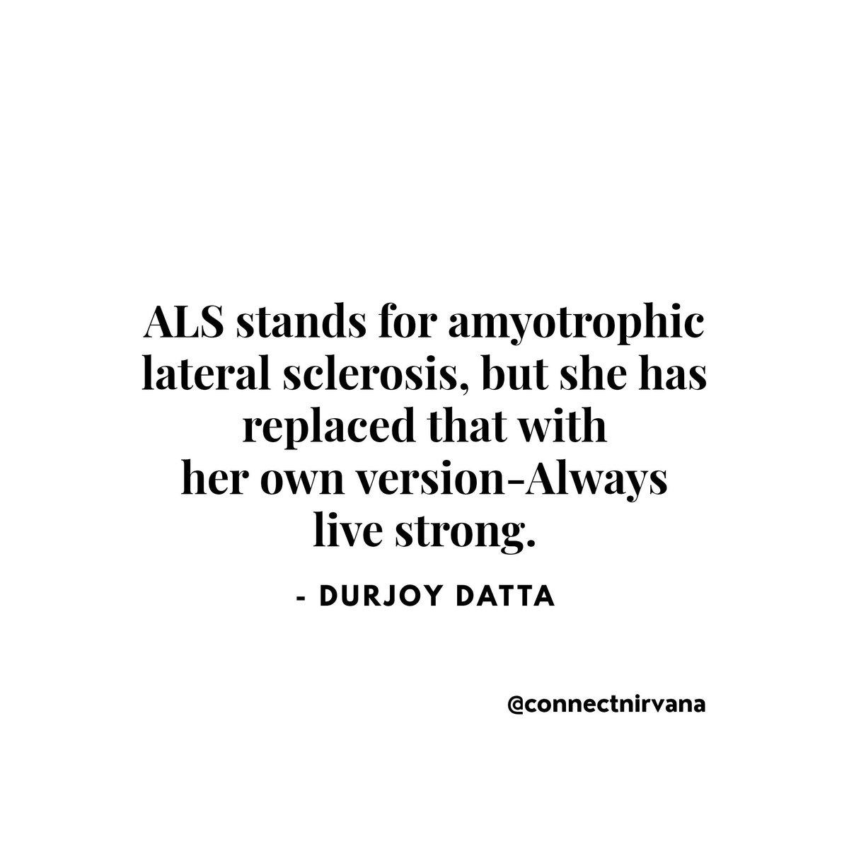 ALS. Double tap ❤️ if you agree THIS.  Follow for #dailyquotes   #Always #live #lovequotes #quotes #she #quoteoftheday #quote #quotestoliveby #quotesdaily #quotesaboutlife #daily #inspire #Inspiration #newpost #text #Tweet #follow #love #RETWEEET #RetweeetPlease https://t.co/3ORJkayZnm