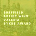 Image for the Tweet beginning: #GoodNewsFriday👏 ⚡️Sheffield Artist Wins Valeria Sykes