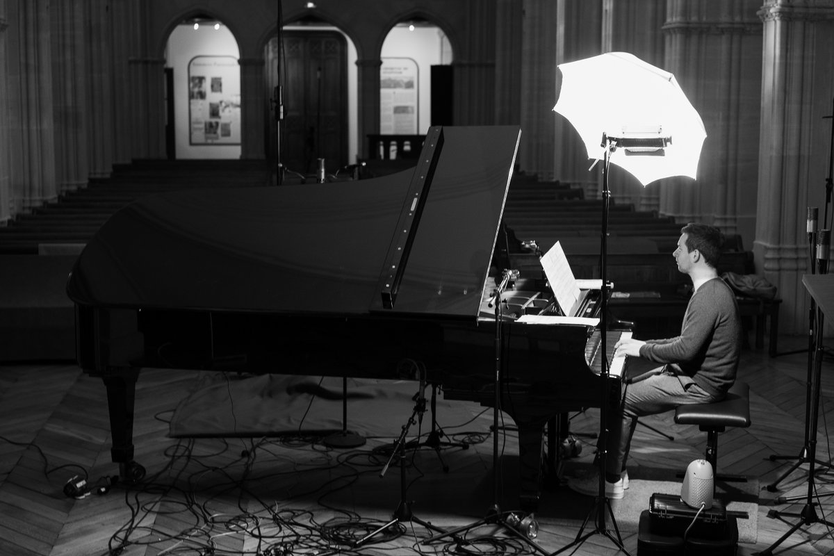 """""""Chopin's Berceuse is without doubt one of the most heartfelt in the whole repertoire,"""" says @ChamayouB.  Listen to the pianist's new rendition, featured on his next album: https://t.co/ScgjuoSINb https://t.co/EaYEaKCwA2"""