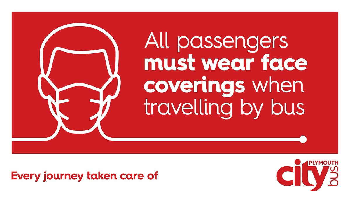 Passengers must follow the govt guidelines on the use of face-coverings when travelling by bus. We understand exceptions will apply, so please advise the driver when boarding. Social distancing restrictions still apply on all buses. Full details here:https://t.co/s9Gwe1P4qo https://t.co/t7JdeYnuj3