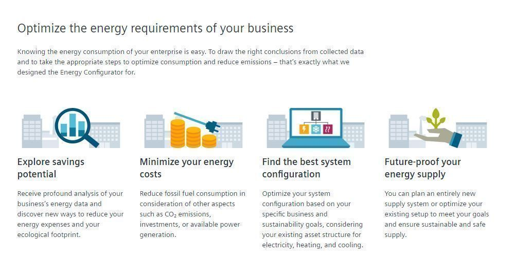 The @Siemens Energy Configurator is a free service that uses a sophisticated algorithm to calculate potential #EnergySavings and CO₂ reduction. Link >> https://t.co/7qiXWNaAQx @Siemens_Energy @antgrasso via @LindaGrass0 #Energy #EnergyEfficiency #Renewables #Decarbonization https://t.co/8iRVPdkuO5