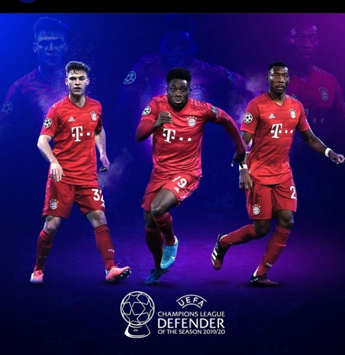 Who would be your defender of the season?!⚽💪  #UEFAawards winners announced at the #UCLdraw, 1 October.🗓️  #UkumbiWaWashindi #StaySafe https://t.co/YW30FODTQJ