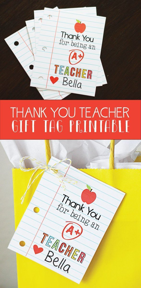 Best Teacher Appreciation Gifts : Thank You Teacher #freeprintable #teacherappreciationweek #gifts #kids #teacherg... _ #TeacherGifts  https://t.co/LoXeB6i2Aq https://t.co/RqqL0evGMi