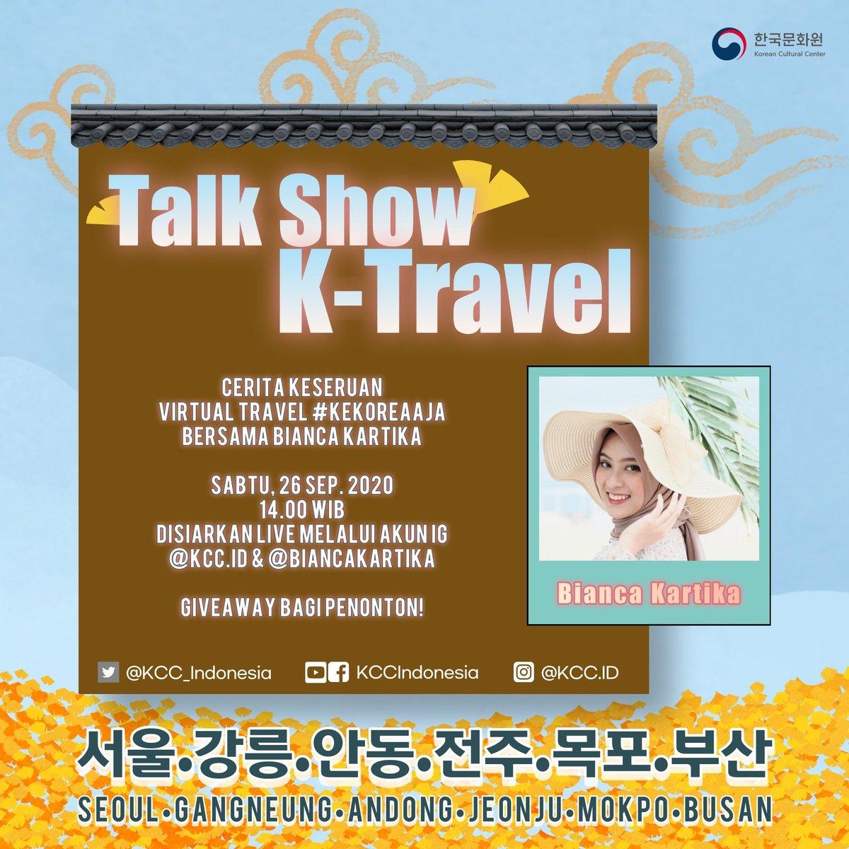 Nonton, yaa~ Sampai ketemu di acara daring KCCI! 감사합나다.  #KTravel #KCCIndonesia #KTravelKCCI #JalanjalankeKorea #virtualtravel #Korea #Seoul #Gangneung #Andong #Jeonju #Mokpo #Busan https://t.co/gE1sefYZwk